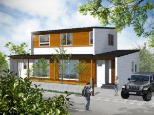 【浜松建設】1/6~9 「木の外壁と白いガルバリウムの家」完成見学会開催 @ 長崎市   長崎県   日本